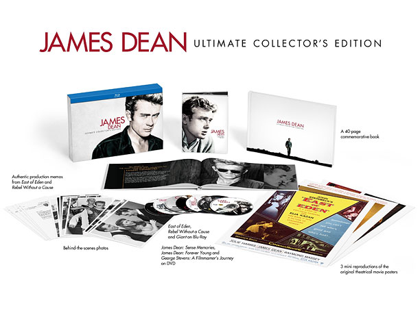 Style, Holiday Gift Guide | In addition to his three films, the James Dean Ultimate Collector's Edition on Blu-ray features documentaries on the fallen idol. ($68.69; wbshop.com )