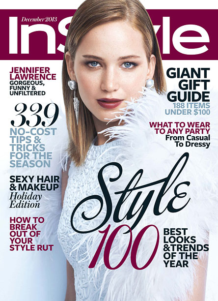 Jennifer Lawrence InStyle Cover