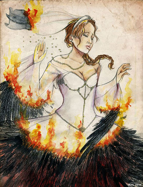 The Hunger Games: Catching Fire | By Marta Montell