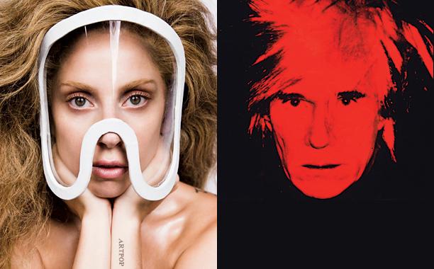 Lady Gaga Andy Warhol