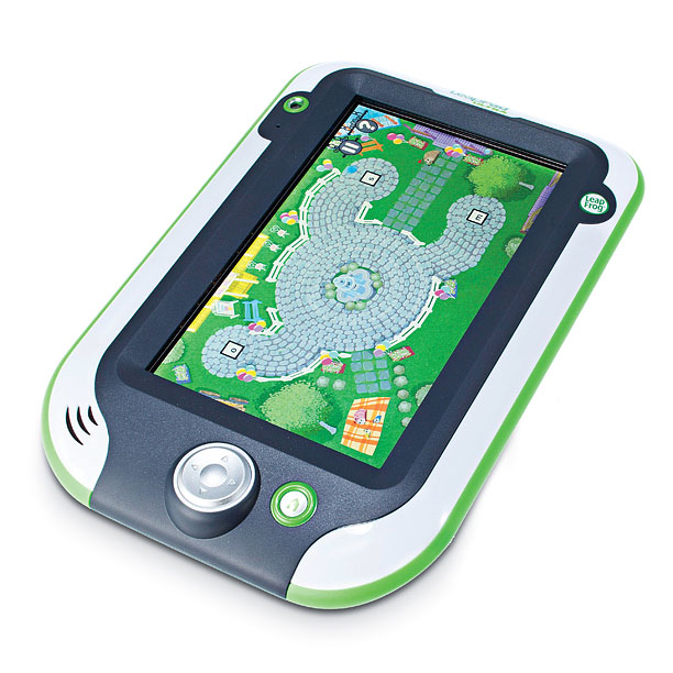 Style, Holiday Gift Guide | The LeapPad Ultra boasts kid-safe Web browsing, preloaded apps, and a high-res touchscreen that swipes just like a grown-up tablet. ($249.99; shop.leapfrog.com )