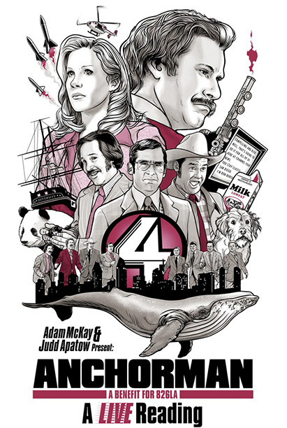 LIVE READING OF ANCHORMAN