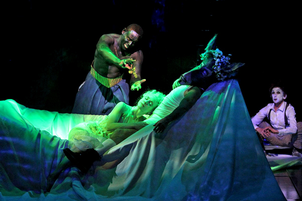 A MIDSUMMER NIGHT'S DREAM David Harewood, Tina Benko, Max Casella