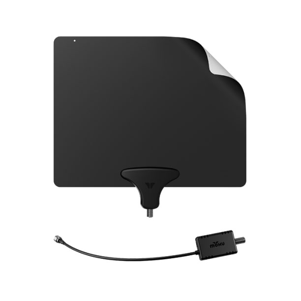 Style, Holiday Gift Guide | Who needs cable when you've got the Mohu Leaf, a paper-thin HDTV antenna that can pull in signals from up to 50 miles away. ($39.99;…