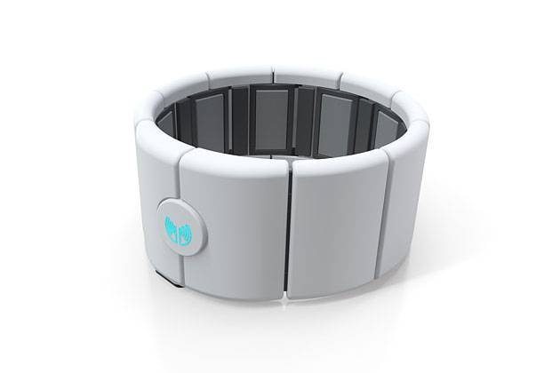 Style, Holiday Gift Guide | Pre-order this motion control armband bracelet — which uses arm muscle activity and EMG signals to control digital devices over Bluetooth 4.0 — for your…