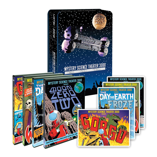 Style, Holiday Gift Guide | The Mystery Science Theater: 25th Anniversary Edition DVD set includes four previously unseen ''experiments.'' ($45.49; bn.com )