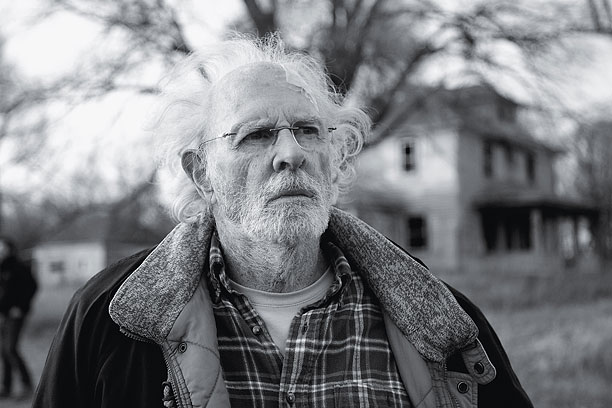 CORNHUSKER DELIGHT Bruce Dern is magnificent in the entertaining Nebraska .