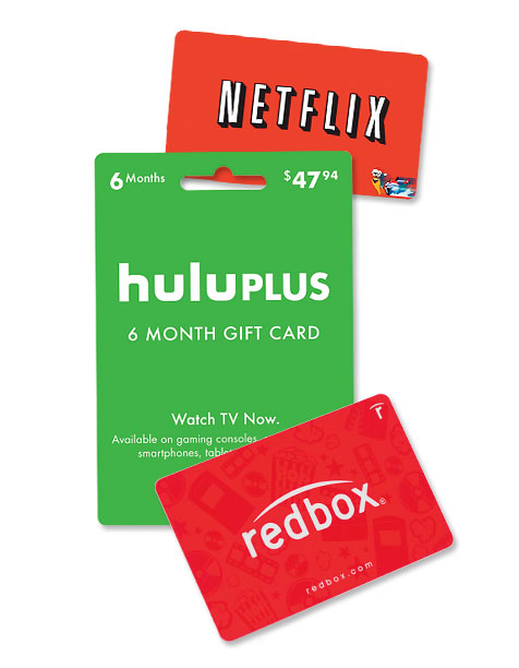 Style, Holiday Gift Guide | Give the gift of entertainment with a Redbox gift card ($25; redbox.com ) or a monthly subscription to Netflix (starting at $7.99; netflix.com ) or…