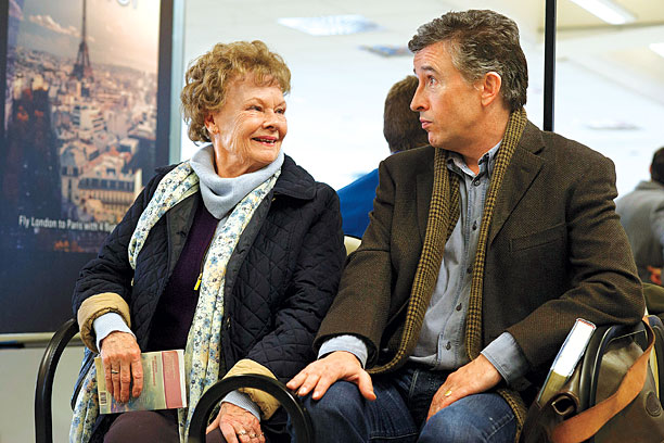 GET YOUR 'PHIL' Dame Judi Dench and Steve Coogan are wonderful in Philomena .