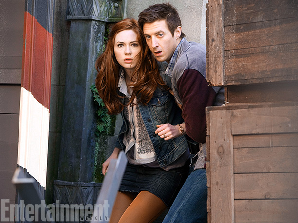 Doctor Who | From Karen Gillan and Arthur Darvill as Amy Pond and Rory Williams (pictured above, 2011) to Catherine Tate's flapper style in a 2008 episode to…