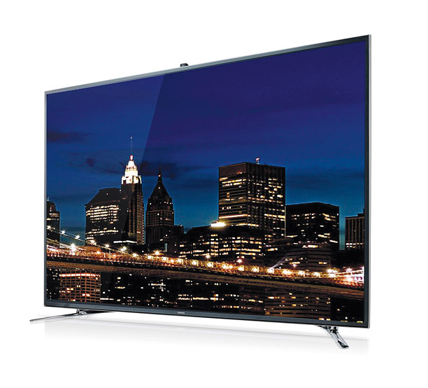 Style, Holiday Gift Guide | Access apps or watch 3-D content on the exquisitely thin 55-inch Samsung LED 8000 smart TV. ($2,499.99; samsung.com )