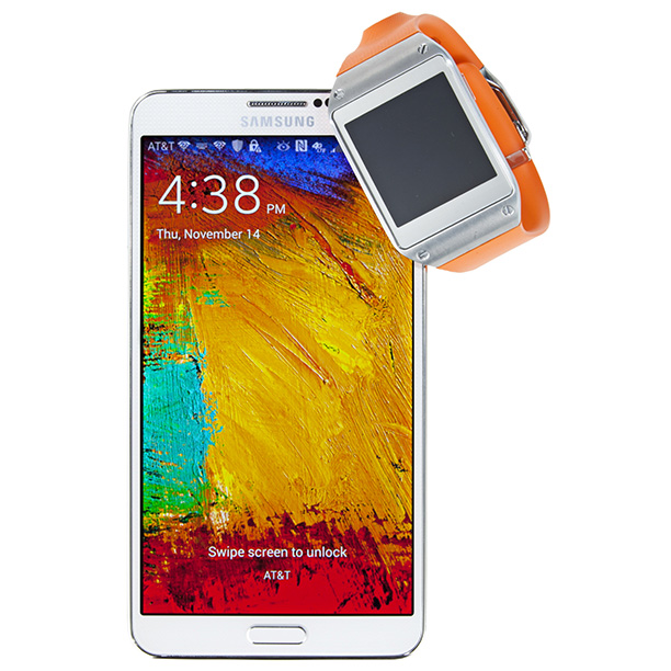 Paired with the Samsung Galaxay Note 3 phablet ($199.99 with two-year contract; t-mobile.com ), the Galaxy Gear offloads smartphone functions to your wrist. ($299.99; t-mobile.com…