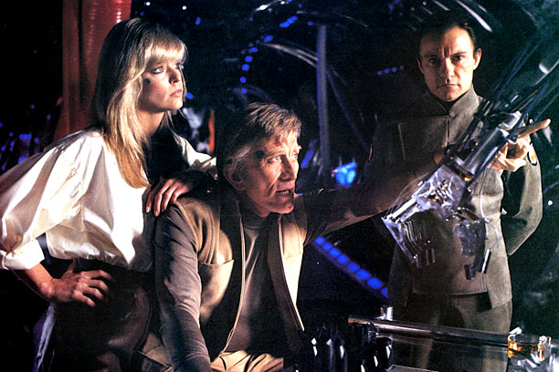 OUT OF THIS WORLD Little-known Saturn 3 featured a stellar cast with the likes of Farrah Fawcett, Kirk Douglas, and Harvey Keitel.