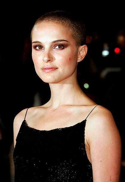 Natalie Portman | Portman may have picked up an English accent for 2005's V for Vendetta , but she also lost a whole lot of hair. Living on…