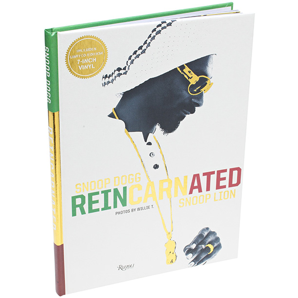 Snoop Dogg: Reincarnated documents the rapper's metamorphosis from Dogg to Lion in a colorful coffee-table book. ($33.53; bookdepository.com )