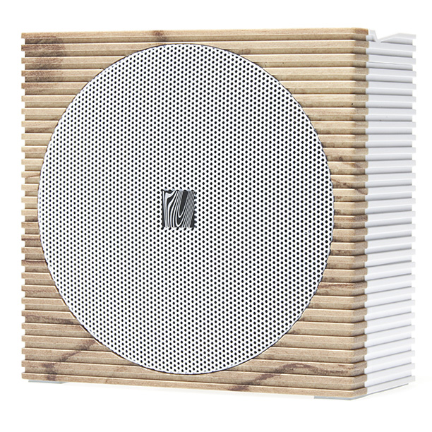 Into mid-century design? The Soundfreaq Sound Sport wireless home speaker offers a way to take music from room to room without compromising your aesthetic. ($69.99;…