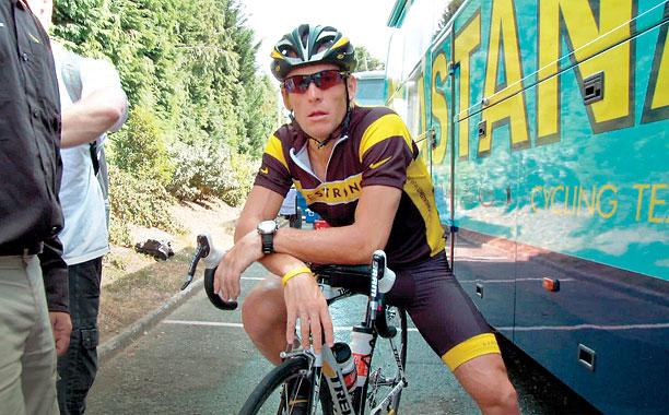 TOUR DE FALSE Alex Gibney tackles the demise of cyclist Lance Armstrong.