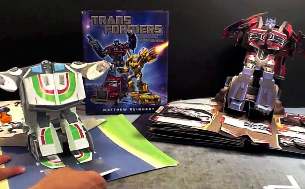 TRANSFORMERS POP UP