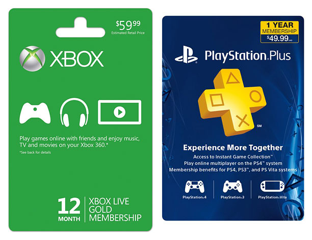 Style, Holiday Gift Guide | The XBox Live 12-month Gold membership ($59.96; walmart.com ) and the 1-year PlayStation Plus membership ($49.99; amazon.com ) are a must for anyone giving their…