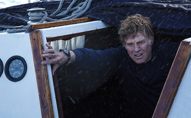 Robert Redford for Best Actor in All Is Lost