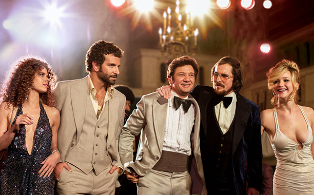 American Hustle | From Christian Bale's massive combover to Bradley Cooper's perm , the hairstyles in David O. Russell's dramedy showed us that the saying ''go big or…