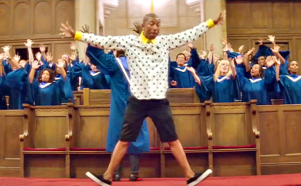 Pharrell Williams | In a year overrun with viral crumbs of ''inspiration,'' Williams launched a remarkable stunt: a 24-hour music video for his effervescently funky Despicable Me 2…