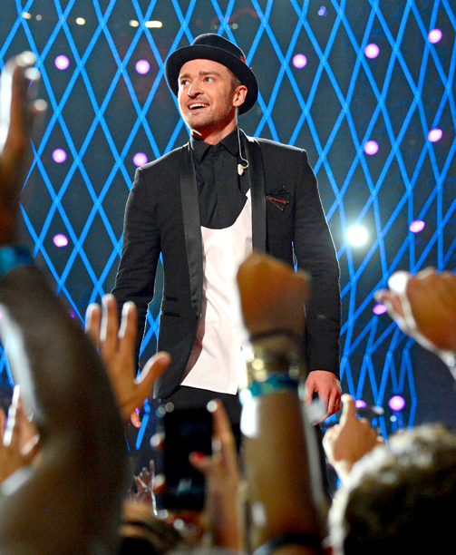 Justin Timberlake, MTV Video Music Awards 2013 | To millions at home (and the thousands who witnessed it live at the Barclays Center in Brooklyn), Timberlake's 15-minute careerography solidified his status as this…