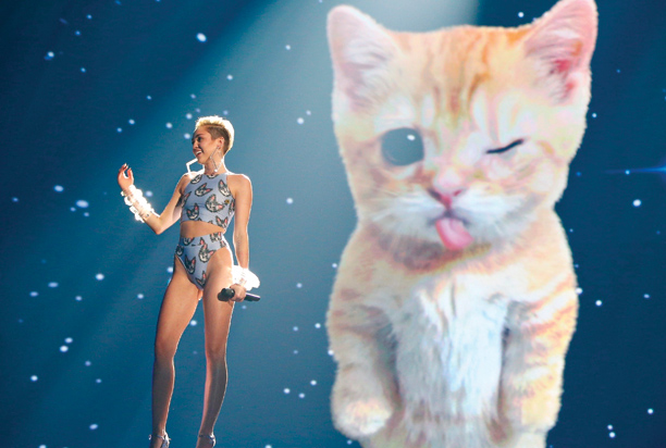 Miley Cyrus, American Music Awards 2013 | Cyrus' performance of ''Wrecking Ball'' was a pure manifestation of millennial id made flesh. But beneath the kitty-GIF theatrics, there was also her disarmingly powerful…