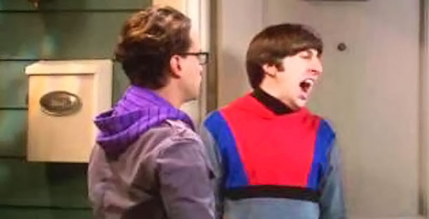 Despite the fact that The Big Bang Theory 's Howard Wolowitz (Simon Helberg) caused his mother (hilariously voiced by Carol Ann Susi) to pass out…