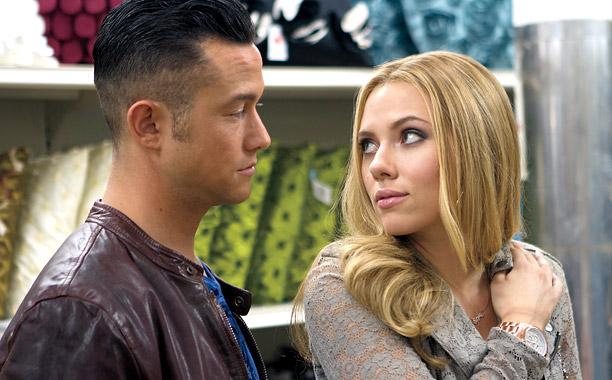 SCARLETT FEVER Joseph Gordon-Levitt and Scarlett Johansson star in Don Jon