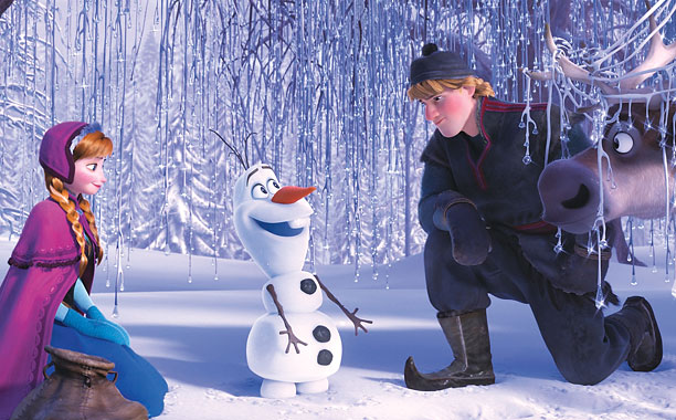 WARMING UP Frozen is delightfully entertaining in the way that only Disney moves can be.