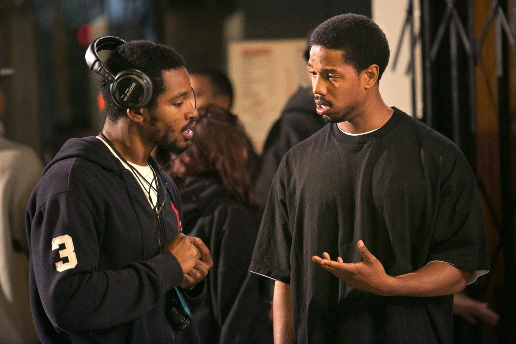 Fruitvale Station - Ryan Coogler and Michael B. Jordan CR: Rhee Bevere/TWC