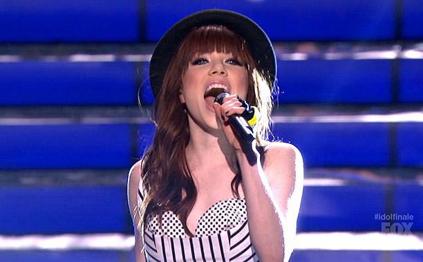 Idol Finals Carly Rae Jepsen