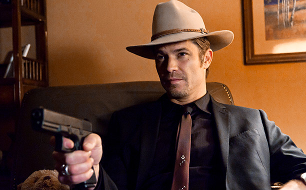 Justified | Leonard served as an executive producer on the FX drama, which stars Timothy Olyphant as Stetson-wearing Deputy U.S. Marshal Raylan Givens, the lead character in…