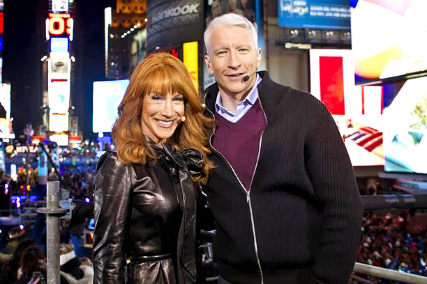Kathy Griffin Anderson Cooper