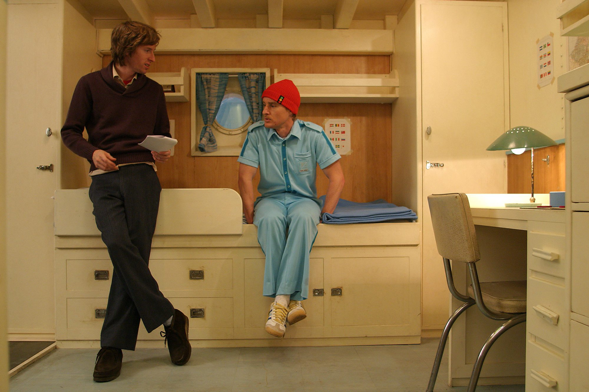 Life Aquatic with Steve ZissouWes Anderson (L) and Owen Wilson