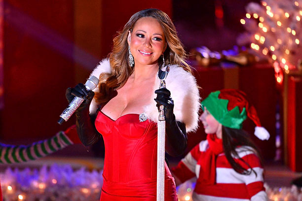 Because you can't have a comprehensive holiday playlist without Mariah. It's the law.