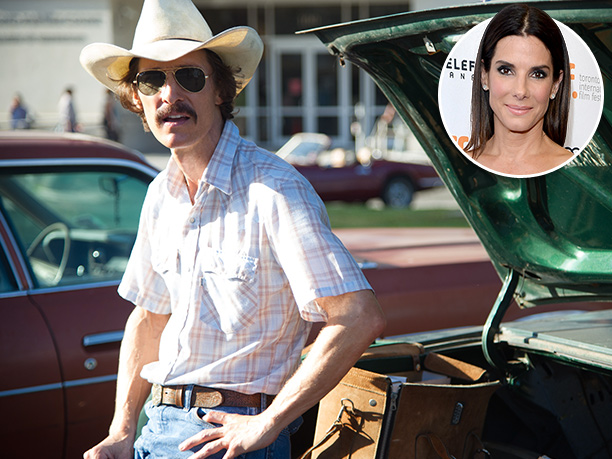 Entertainers Of The Year   '' Dallas Buyers Club will weave its way into every fiber of your being,'' says Bullock. ''I am just so proud and excited for Matthew.…