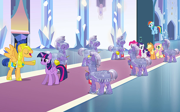 Transporting the pony pals of Equestria to a regular high school — and transforming them into human-pony hybrids — could have been an unwelcome trip…