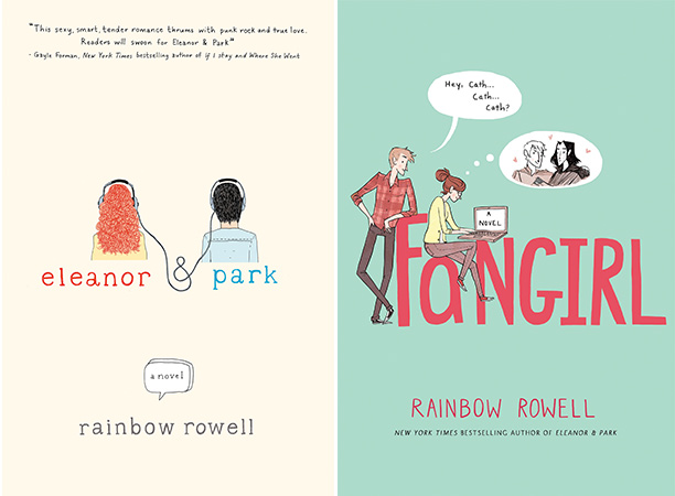 Rainbow Rowell had two very different novels come out this year: Eleanor & Park , a quirky teen romance, and Fangirl, a coming-of-age tale set…