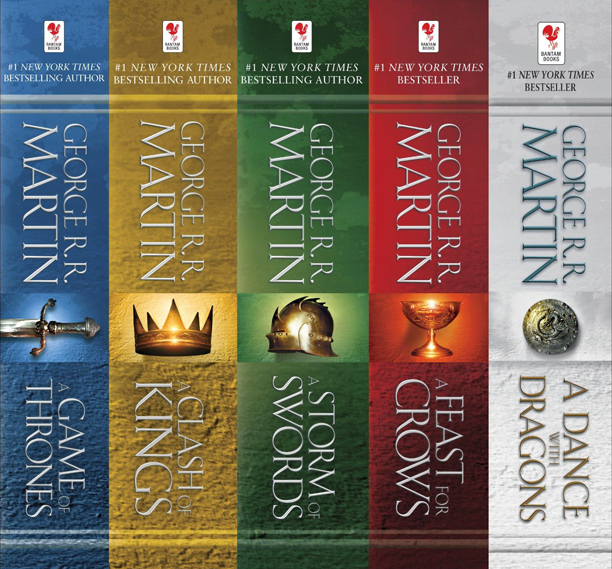 Game of Thrones, A Game of Thrones | ''I bought the Game of Thrones five-book box set for my Kindle, and I don't even have a Kindle (the box set was a good…