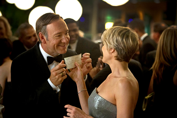 Kevin Spacey, Robin Wright, ... | ''I will embrace this newfangled streaming thing all the kids are talking about. First stop: House of Cards — ironically, I'll probably only get caught…
