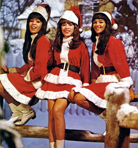 This Wall of Sound is A Christmas Gift for You From Phil Spector . (Might be wise not to accept any more gifts from that…