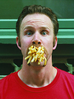 Super Size Me, Morgan Spurlock | Documentary filmmaker Morgan Spurlock's intrepid human-lab-rat experiment — he ate exclusively at McDonald's for a month — tapped a rich vein in the zeitgeist as…