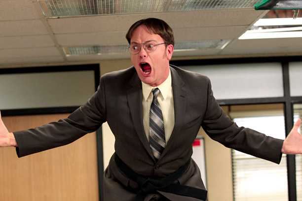 Rainn Wilson, The Office | ''This year when I'm bingeing on Netflix shows I'll make a concerted effort to branch out to something new, and not just rewatch my favorite…