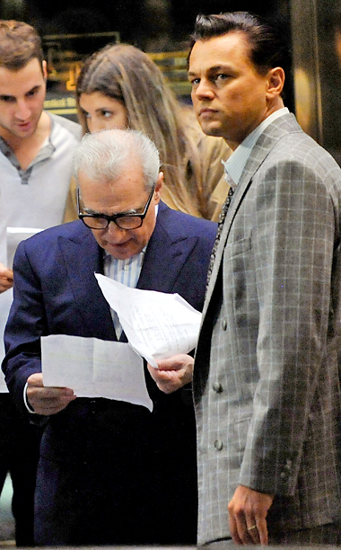 Martin Scorsese, Leonardo DiCaprio | J.C. Chandor, All Is Lost Paul Greengrass, Captain Phillips Alexander Payne, Nebraska David O. Russell, American Hustle Martin Scorsese, The Wolf of Wall Street (shown)