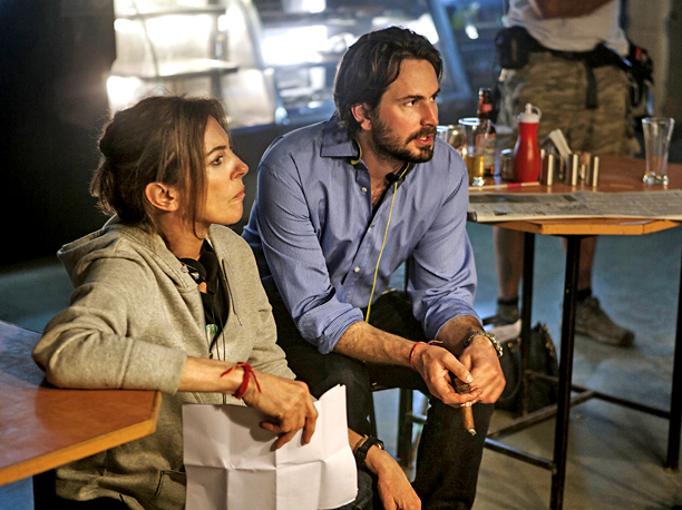 Mark Boal, Kathryn Bigelow, ... | Award-winning war correspondent-turned-screenwriter Mark Boal and director Kathryn Bigelow are a team bonded by Oscar gold. Few modern duos have been skilled (and bold) enough…
