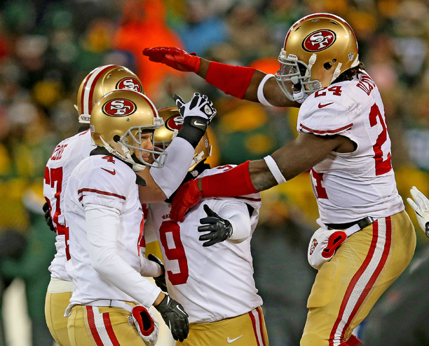 49ers Packers