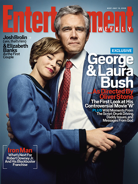 May 16, 2008 When EW learned about director Oliver Stone's audacious plan to make a movie about the then-sitting president, we had only one goal…