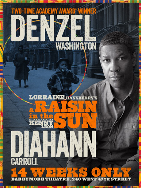 Opens: April 3 at the Ethel Barrymore Theatre; previews begin March 8 Stars: Denzel Washington (Walter Lee Younger), Diahann Carroll (Lena Younger), Sophie Okonedo (Ruth…